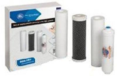 """Rezerva, set cartuse de filtrare (filtre de schimb) pentru """"Filtrul de apa purificator cu osmoza inversa FARO5P"""